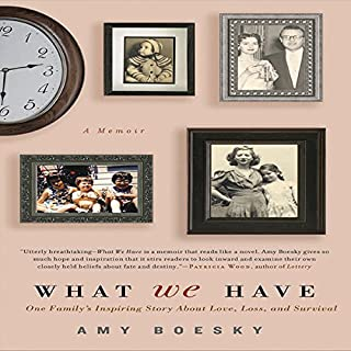 What We Have audiobook cover art