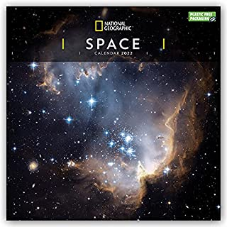 Space National Geographic Square Wall Calendar 2022