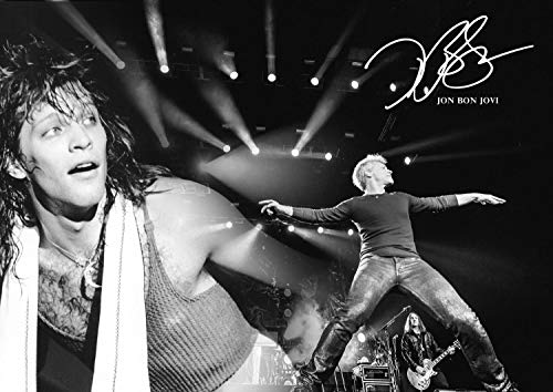 BON JOVI–Jon Bon Jovi Poster # 5–Rock Legend–Musik Legenden–A3Print, Kunst