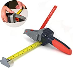 Drywall Axe All-in-one Hand Tool with Measuring Tape and Utility Knife – Measure, Mark..
