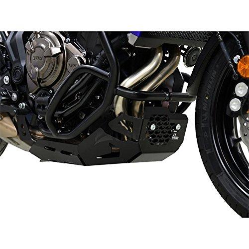 Yamaha MT-07 MT07 Tracer Bj 2016-18 Protección Del Motor Antiempotramiento Pan Del Vientre Negro