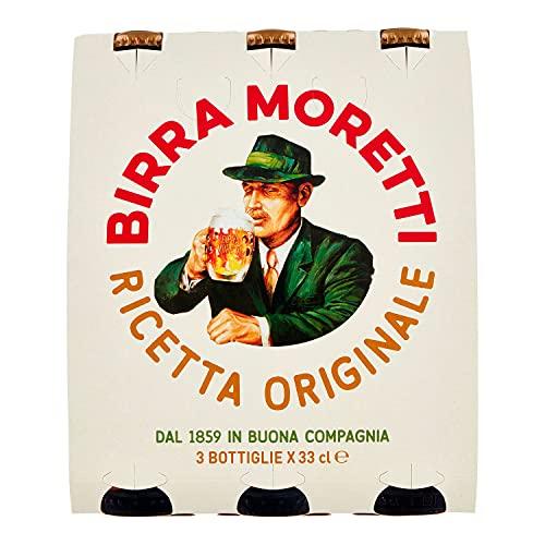 Birra Moretti Birra Bottiglia, 3 x 330ml