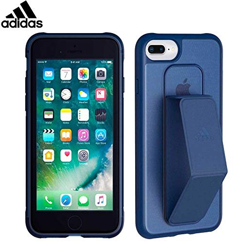 adidas Performance Grip - Funda para Apple iPhone 8/7/6 Plus, color azul marino