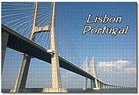 BEI YU MAN.co ポルトガルバスコダガマ橋リスボン大人のためのジグソーパズル子供1000個ギフトのための木製パズルゲーム家の装飾特別な旅行のお土産