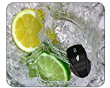 Mousepads Lemon Lime Water Office Mouse Pad
