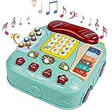 Juguetes Bebe Musicales Teléfono Juguete,Juegos de Mesa para Niños Piano Infantil Instrumentos Musicales Infantiles Regalos Juegos Educativos Bebes Niños Niña 3 4 5 Años