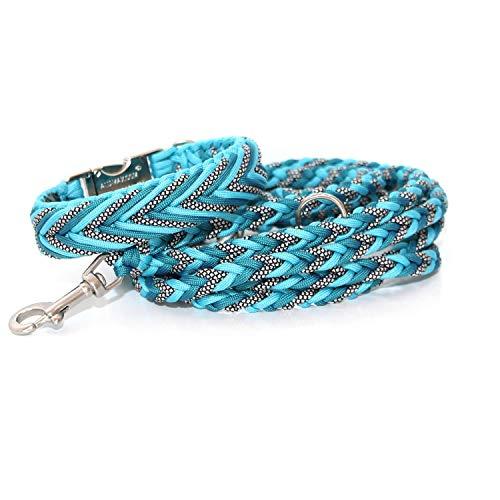 Hundehalsband, Paracord Halsband mit passender Leine, Hundeleine, Paracord Leine, Halsband + Leine, Hundehalsband + Leine, Hundehalsband + Leine Paracord