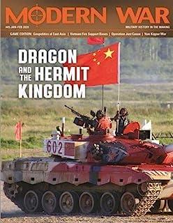 DG: Modern War Magazine #45, with The Dragon & The Hermit Kingdom Boardgame