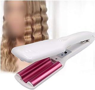 LZYFZDZ Triple Barrel Curling Iron Perm Splint Professional Hair Curler Iron Ceramic Hair Curl Wand Waver Crimping Iron St...