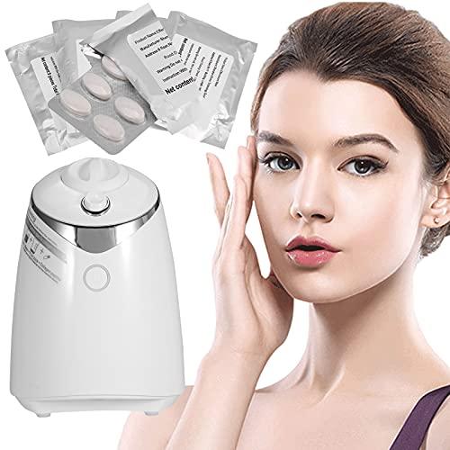 Máquina para hacer mascarillas faciales con 32 piezas de colágeno, tratamiento facial, mascarilla de frutas y verduras naturales para el cuidado de la piel del spa (Machine)