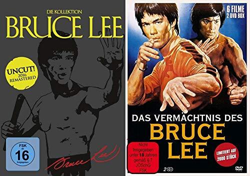 10 Filme – Bruce Lee - Mega Collection – Das Vermächtnis DVD Box Set - Limited Edition