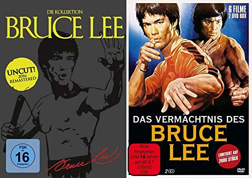 10 Filme – Bruce Lee - Mega Collection – Das Vermächtnis DVD Box Set - Limited Edition