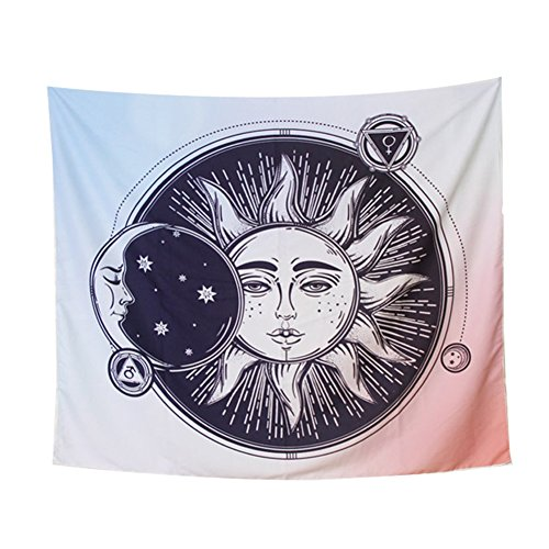Gespout Tapicería Tapiz Pared Paño Colgar Decorativo Mandala Playa Hippie Hippy Cena...