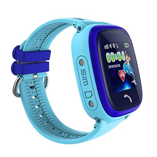 VIDIMENSIO GPS Telefon Uhr Kleiner Delfin WASSERDICHT, OHNE Abhörfunktion, für Kinder, SOS  Abbildung 2