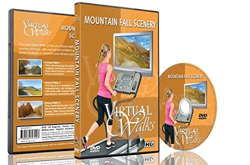 Virtuelle Spaziergänge - Berglandschaften im Herbst für Innen-Walking, Laufband und Radfahren