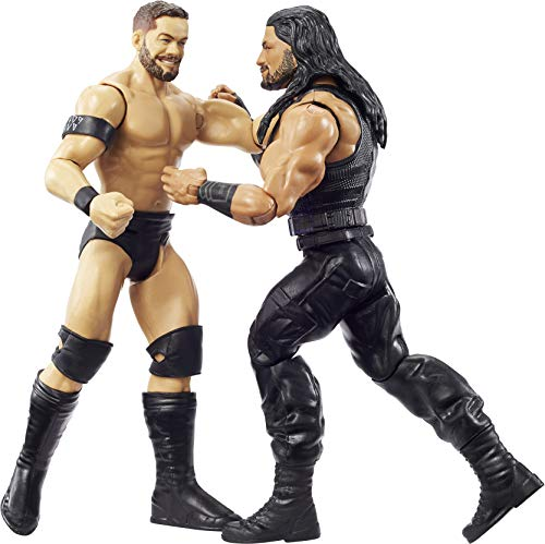 WWE Roman Reigns vs Finn Balor Championship Showdown 2 Pack 6 in Action Figures Monday Night RAW Battle Pack for Ages 6 Years Old and Up​