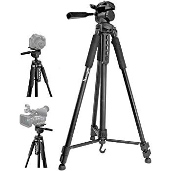HeroFiber 75 Pro Elite Series Photo//Video Tripod /& Deluxe Soft Carrying Case for Sony Alpha NEX-6 NEX-7 Interchangeable Lens Digital Cameras w Ultra Gentle Cleaning Cloth