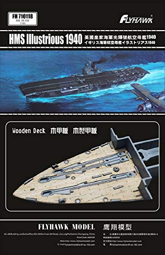 FLYHAWK - HMS Illustrious 1940, Wooden Deck