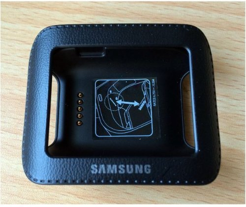 Samsung Galaxy Gear Smart Watch Charging Cradle Dock (Jet Black)