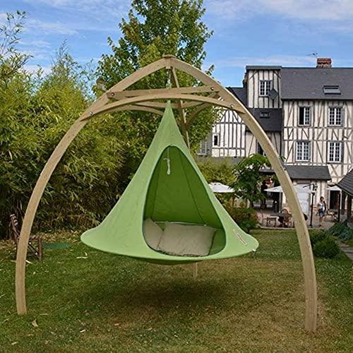 JJZXLQ Outdoor Travel Camping Hanging Tree Hammock Indoor Children's Play Swing Hanging Chair Waterproof Tent