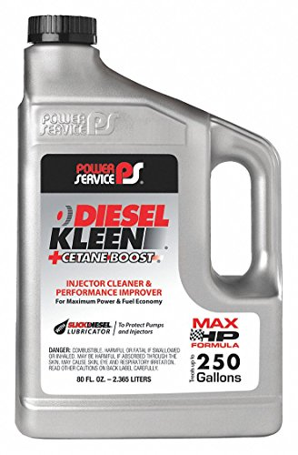 Power Service 03080-06 80 Ounce 03080 +Cetane Boost Diesel Kleen Fuel Additive-80 oz