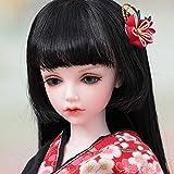 BJD Dolls 1/4 SD Muñeca Kimono Japonés Ball Jointed Figura De Acción Princesa Maquillaje De Vestir Juego De Juguetes para Niñas Decoración del Escritorio De Casa