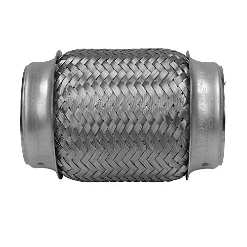 18 Long Stainless Steel Rolled Edge 20/° Exhaust Tip Diesel EXT23 Remarkable Power 4 Inlet 6 Outlet