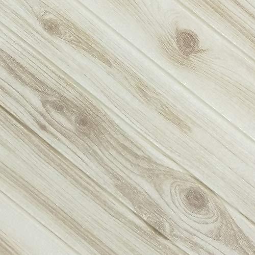 LZYMLG Papel tapiz autoadhesivo de grano de madera 3d dormitorio sala de estar oficina fondo pared espuma algodón pegatinas decorativas engrosamiento insonorización 10pc Gris blanco