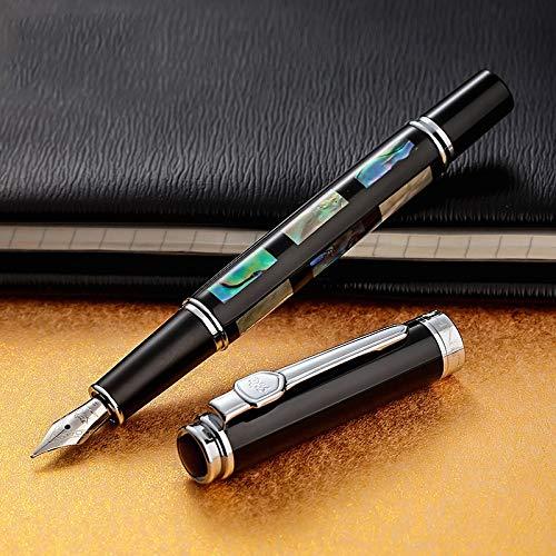 MWQCEW 650 u 8802 Pluma Pluma de Lujo Call Calligraphy Tinta Pen MB o Regalo de 1.0mm Nib para Hombres y Mujeres (Color : Jinhao 8802 0.5mm)