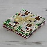 Fat Quarter Stoffpaket Piraten 6Stoffe 45,7x 55,9cm