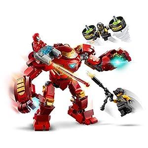 Amazon.co.jp - レゴ マーベルスーパーヒーローズ アイアンマン・ハルクバスター vs. A.I.M.エージェント 76164
