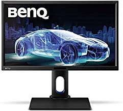 BenQ BL2420PT 24 inch QHD 1440p IPS Monitor   100% sRGB  AQCOLOR Technology for Accurate Reproduction for Professionals , Black
