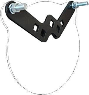 Highwild 2x4 Target Hanger | Target Stand Base | Adjustable Height Steel Post | AR500 Steel Gong Targets Conversion Adapter