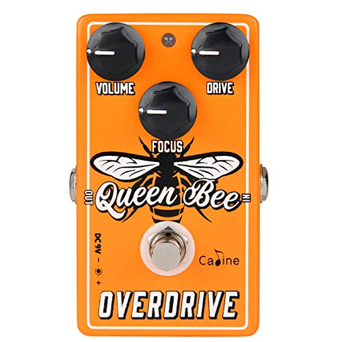 Caline Overdrive Guitar Pedal - CP-503 Queen Bee Overdrive Pedal For Electric Guitar...