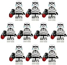 10 NEW LEGO STORMTROOPER MINIFIG LOT 75078 imperial troop transport