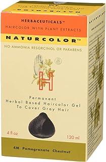 Naturcolor 4M Pomegranate Chestnut Hair Dyes, 4 Ounce