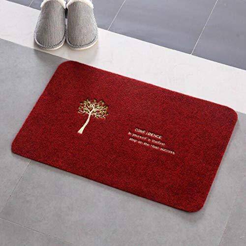 badmatten voor badkamer badmatten antislip antislipmat badkamer toilet suède absorberend tapijt mat-rode wijn
