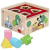 Disney - Cubo encajables bebé 5 Piezas - Formas y colores - Juguetes para Apilar y Encajar Juguetes bebés 1 año Juego educativo Niños 1 2 años Bloques infantiles Disney