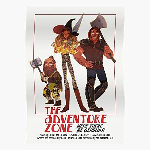 Hardymedicalsupplies Adventure Taz Merle Taako Zone DND Magnus The Home Decor Wall Art Print Poster !