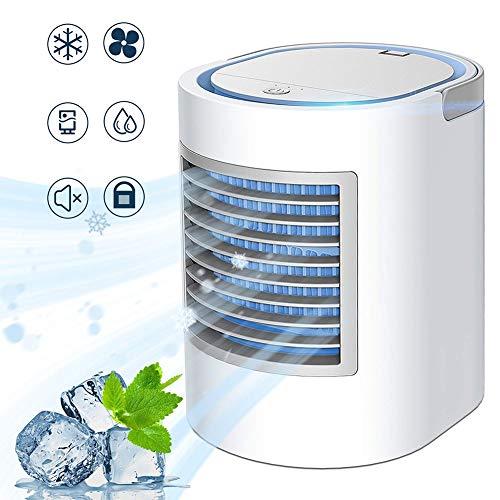 GRTVF Tragbare Klimaanlage, tragbare Kühlbox, Quick & Easy Way persönlichen Raum zu kühlen, DREI Windpegeleinstellung, Geeignet for Bedside, Büro und Study Room