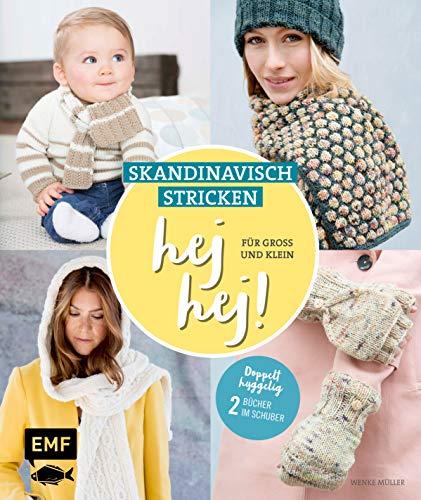 hej hej! Skandinavisch stricken für Groß und Klein: Doppelt hyggelig: 2 Bücher im Schuber