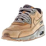 Nike Air MAX 90 GS 943747-700, Zapatillas Unisex niños, Beige (Beige 943747/700), 37.5 EU