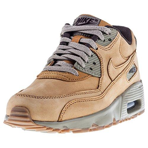 Nike Air MAX 90 GS 943747-700, Zapatillas Unisex niños, Mehrfarbig (Beige 001), 40 EU