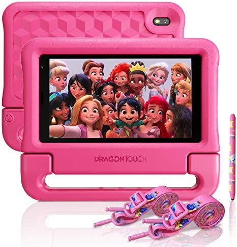 Dragon Touch KidzPad Y88X 7 Kids Tablet with WiFi Android 10 7 IPS HD Display 32GB ROM KIDOZ product image