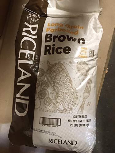 Long Grain Parboiled Brown Rice  25 lbs