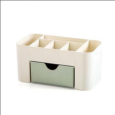 Amazon.com: Caja organizadora de escritorio de plástico con ...