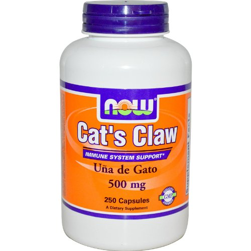 Now Foods Cat's Claw, 500mg, 250 Capsules