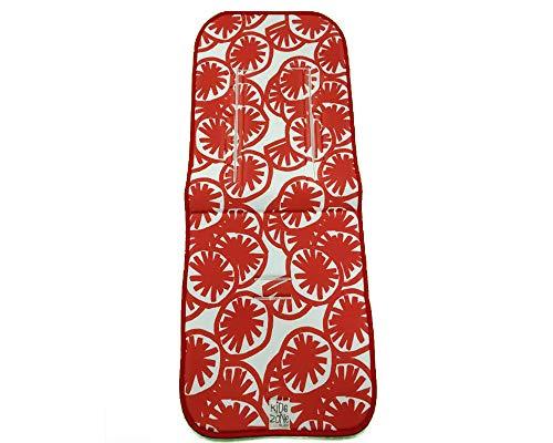 Jané 080258SL T27 Sitzauflage für Buggy, universal, atmungsaktiv, rot