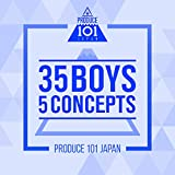 PRODUCE 101 JAPAN - 35 Boys 5 Concepts