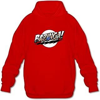DASY Men's O-neck The Big Bang Theory Illuminati Hoodie XX-Large Red